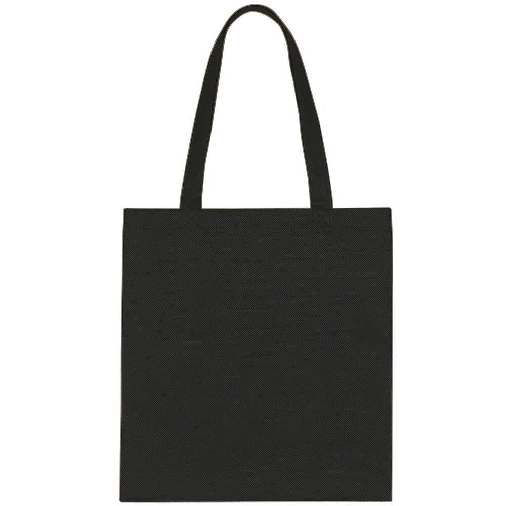 Tote bag template illustrator - Black