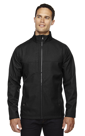Men's Textured City Soft Shell Jackets