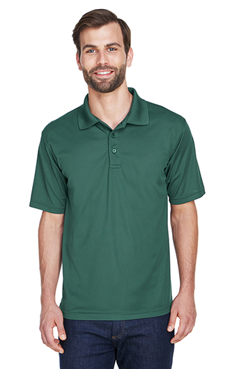 UltraClub Men's Cool & Dry Mesh Pique Polo