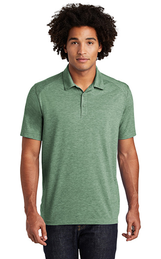 Sport-Tek  PosiCharge  Tri-Blend Wicking Polo