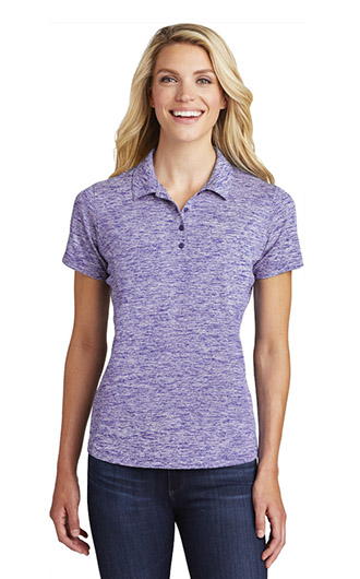Sport-Tek Women's PosiCharge Electric Heather Polo