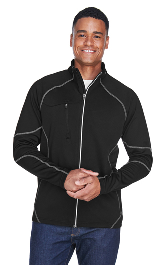North End Men's Gravity Performance Fleece Jackets