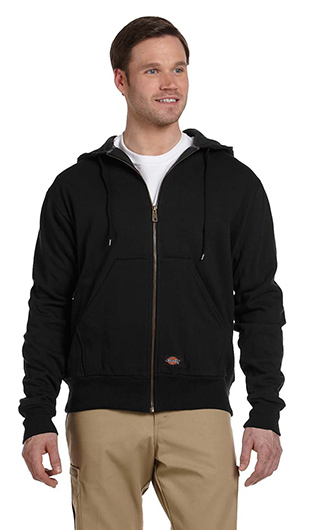 Dickies Men's 470 Gram Thermal-Lined Fleece Jacket Hooded Sweats