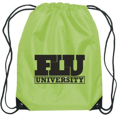 Value Custom Backpacks - Polyester Custom Drawstring Bags a25453cf12728