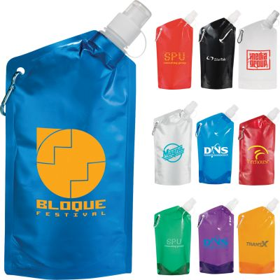 20 oz. Cabo Water Bag with Carabiner