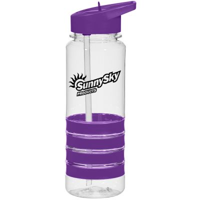 24 Oz. Banded Gripper Bottles With