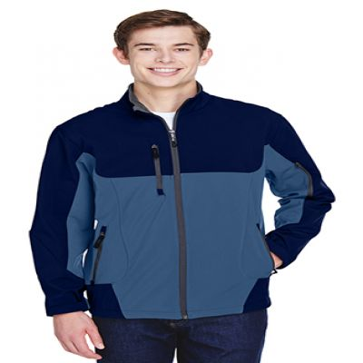 Men's Color-Block Soft Shell Jackets