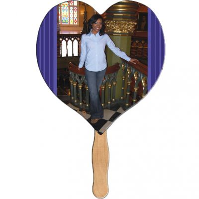 Heart Shape Fast Fan