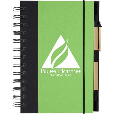 Eco-Friendly 5 X 7 Spiral Notebook & Pen