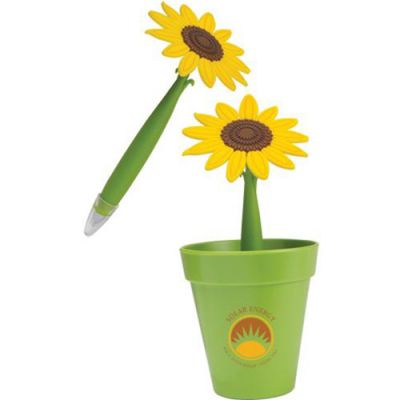Potted Sunflower Pens