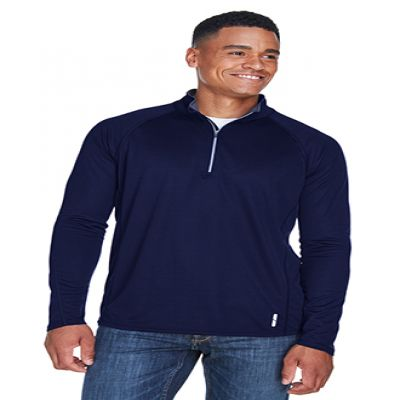 Radar Men's Half-Zip Performance Long Sleeve Top