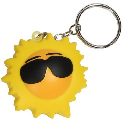 Cool Sun Key Chain Stress Reliever