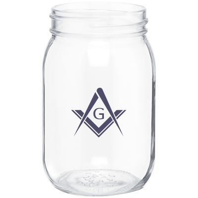 16 oz. Glass Mason Jar