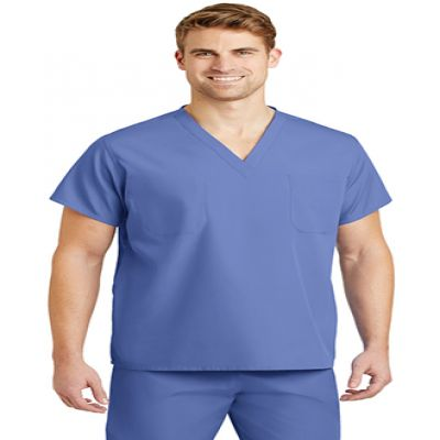 Reversible V-Neck Scrub Top