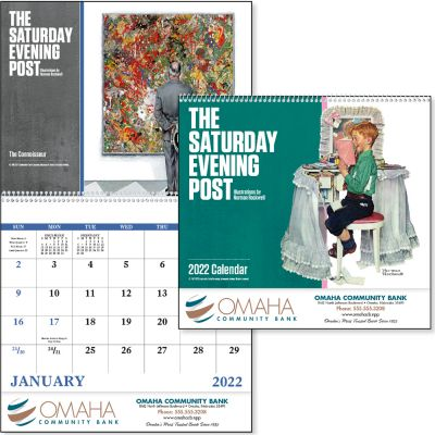 The Saturday Evening Post - Spiral Calendar