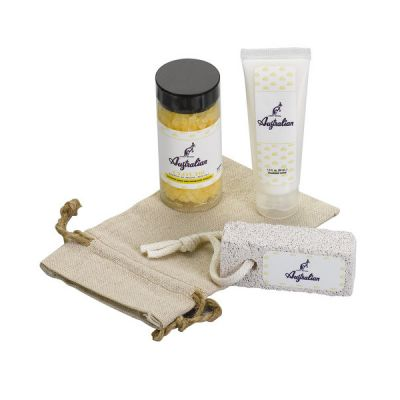 Foot Therapy Set in Linen Bag