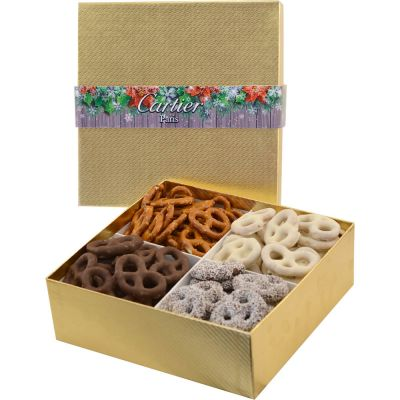 Large 4 Way Pretzel Gift Boxes