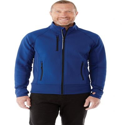 M-PANORAMA Hybrid Knit Jacket
