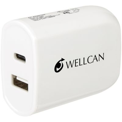 UL Listed 2-In-1 USB Type-C Wall Adapter