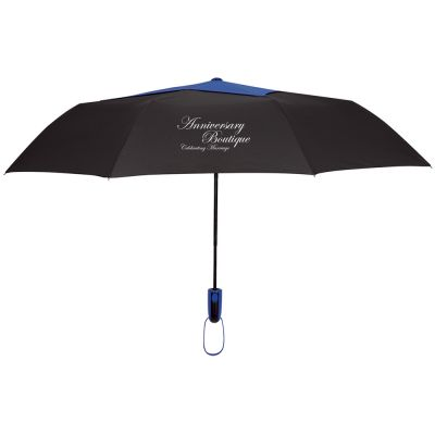 "44"" Arc Telescopic Diamond Top Vented Umbrellas"