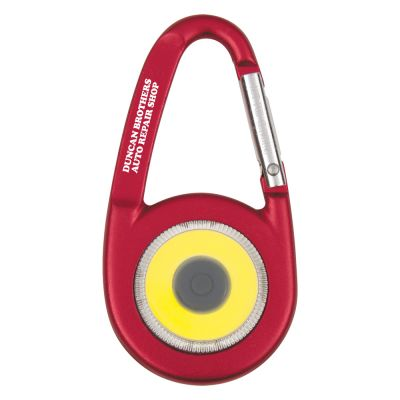 Hartney Aluminum COB Light With Carabiner