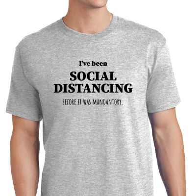Social Distancing Before it was Mandantory - M