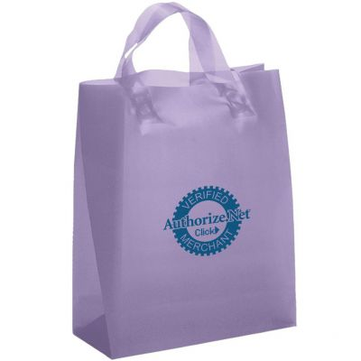 Iris Frosted Brite Shopper