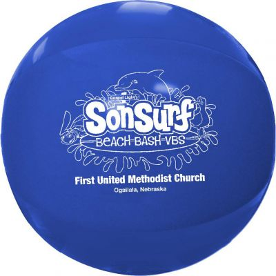 Solid Color Beach Balls 16