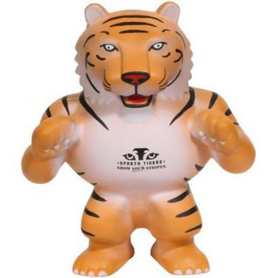 Tiger Mascot Stress Relievers