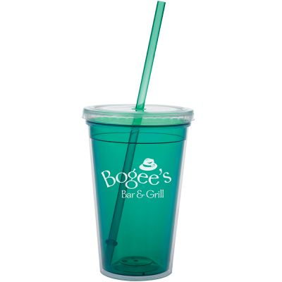 18 oz. Double Wall Translucent Tumbler
