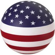 Usa Round Stress Ball