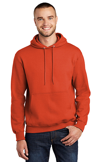 Port & Company 9-Ounce Hooded Sweatshirts - Screen Printed