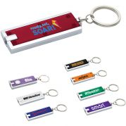 Custom Flashlight Keychains - Rectangular