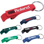 Custom Bottle Openers - Plastic Keychain