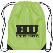Value Custom Backpacks - Polyester Custom Drawstring Bags