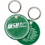Round Sof-Touch Key Tag