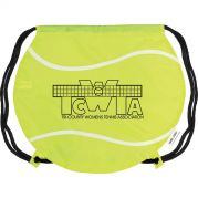 Gametime Tennis Ball Drawstring Backpack