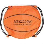 Gametime Basketball Drawstring Backpack