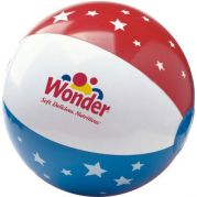 Stars & Stripes USA Beach Ball 16