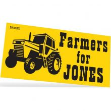 One Day Bumper Stickers - 3.75 x 7.5