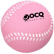 Baseball Stress Relievers - White