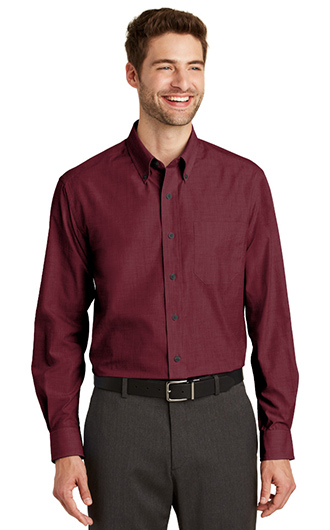 Port Authority Crosshatch Easy Care Shirts