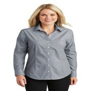 Port Authority Ladies' Crosshatch Easy Care Shirt