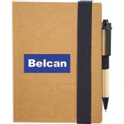 Eco Perfect Bound Notebook & Pen