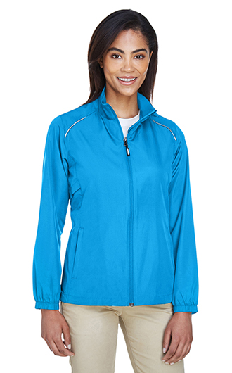 Women's Unlined Lightweight Custom Jackets - Motivate Core 365