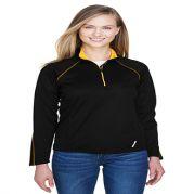 Radar Ladies' Half-Zip Performance Long Sleeve Top