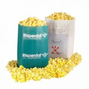 Microwave Popcorn - White Bag with Custom Imprint on Front - Ext