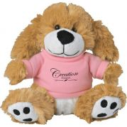 6 Plush Big Paw Dog with Shirt