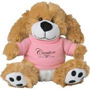 6 Plush Big Paw Dog with Shirt
