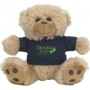 6'' Plush Big Paw Bear with Shirt